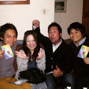 Kyohei, Takuro y Kai